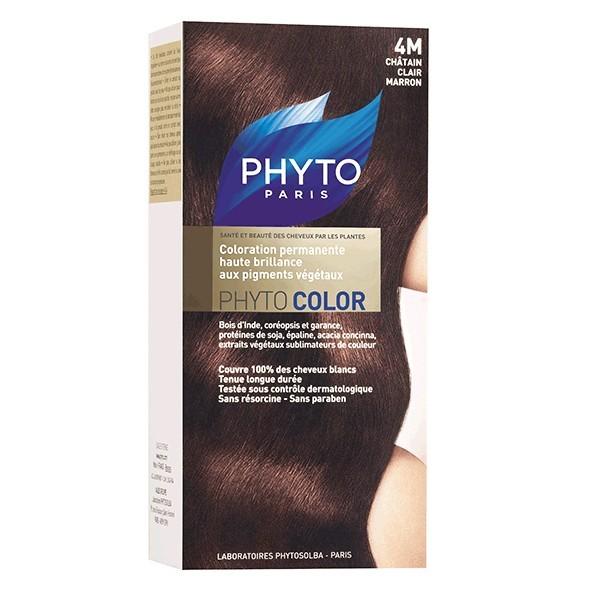 Buy Phyto Color 4m Light Chestnut Brown Hair Sanareva