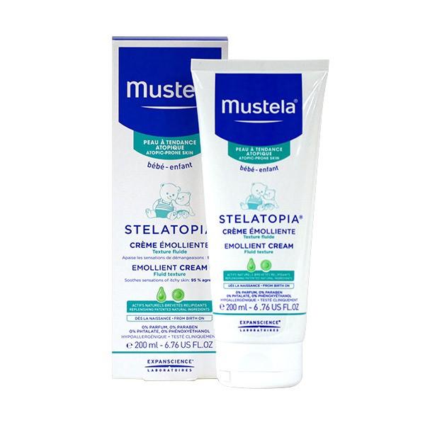 Mustela Stelatopia Cream Remover 200ml