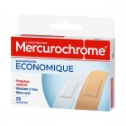 MERCUROCHROME DRESSINGS ECONOMIC BOX OF 20