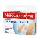 MERCUROCHROME DRESSINGS UNIVERSAL FAMILY BOX OF 50