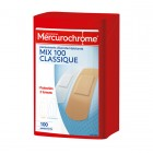 MERCUROCHROME BOX 1ST RELIEF MULTI-PURPOSE 100 DRESSINGS