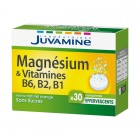JUVAMINE - FIZZ - EFFERVESCENT MAGNESIUM AND VITAMIN B6 B2 30 PILLS