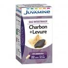 JUVAMINE PHYTO CHARCOAL + YEAST 45 CAPSULES