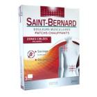 MERCK SAINT BERNARD PATCHES HEATING PAIN MUSCLE 3 PATCHES