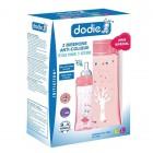 DODIE ANTI-COLIQUE ROSE 6 M + 330ML SET OF 2 BOTTLES