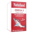 Naturland Omega 3 original Navy 180 capsules