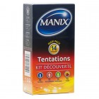 MANIX TEMPTATIONS KIT DISCOVERY 14 CONDOMS