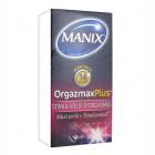 MANIX ORGAZMAX MORE STIMULATOR OF ORGASMS 14 CONDOMS