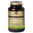 SOLGAR RESVERATROL 60 VEGETABLE CAPSULES