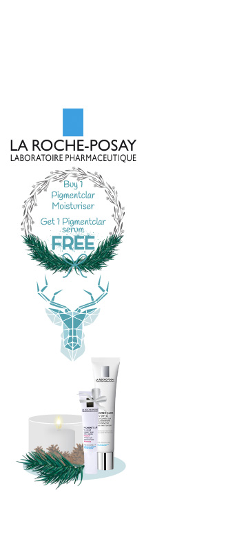 In December  promotions on La Roche Posay