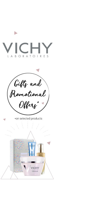 In January January promotions on Vichy