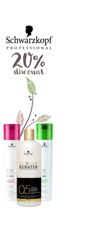 In November  Promotions on Schwarzkopf