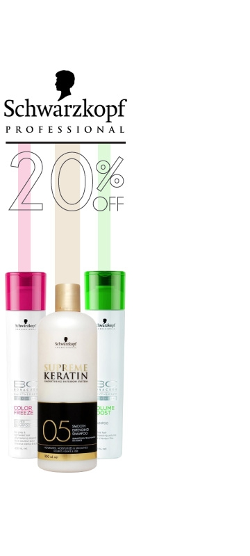 In September  Promotions on schwarzkopf