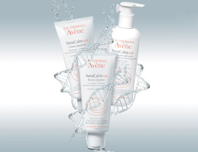 Cleanse atopic skin